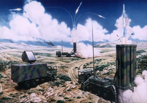 4. SAMP-T -ohjusyksikkö