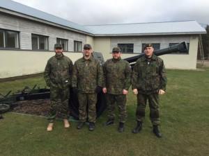 Mika Riste, Hannu Uronen, Max Käär ja Andrei Nyman  / Jari Gerasimoff