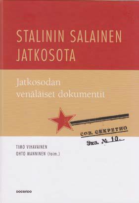 Stalinin salainen jatkosota, kansi