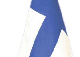 Suomen lippu -pöytästandaari