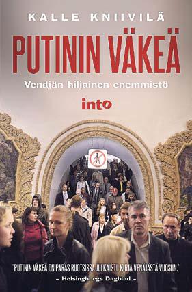 Putinin väkeä, kansi